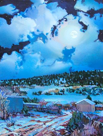 Noche de Nieve by  JA Gorman - Masterpiece Online