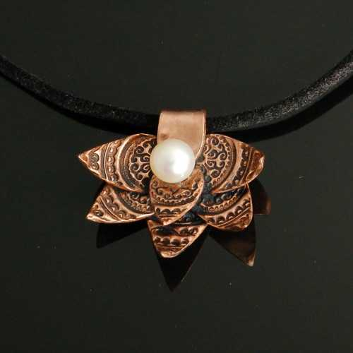 PRE1342 Pendant Coppe... by  Pam East - Masterpiece Online