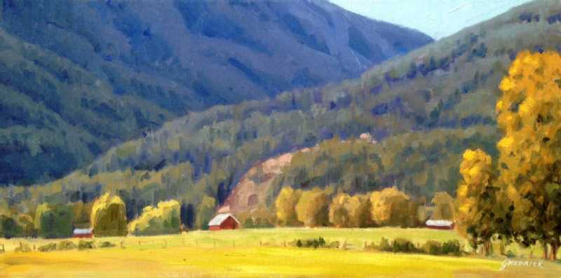 BC Farmland by  Jessica Hedrick - Masterpiece Online