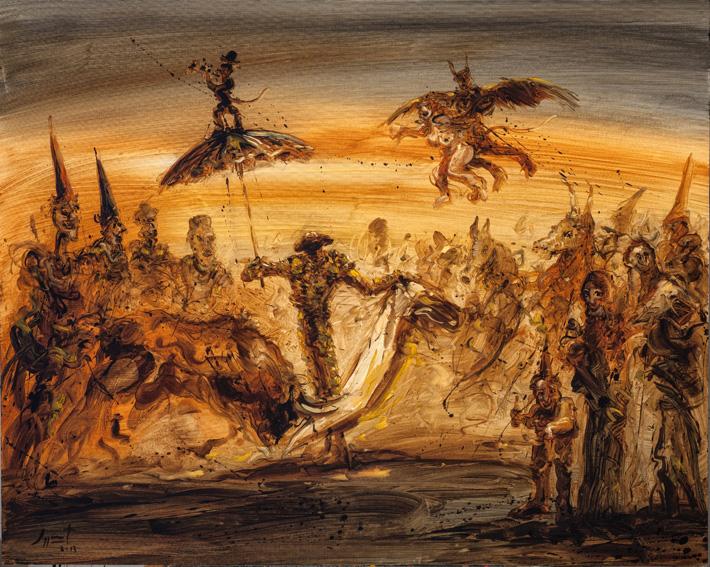 FANTASIA GOYESCA by Mr. JAZZAMOART VAZQUEZ - Masterpiece Online