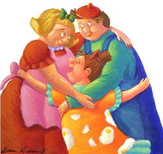 Group Hug by  Diane Greenseid - Masterpiece Online