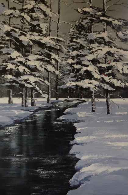 By the River by  Janet Liesemer - Masterpiece Online
