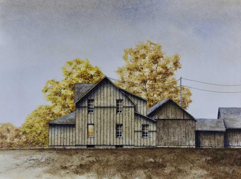 Nearing November by  Jeremy Browne - Masterpiece Online