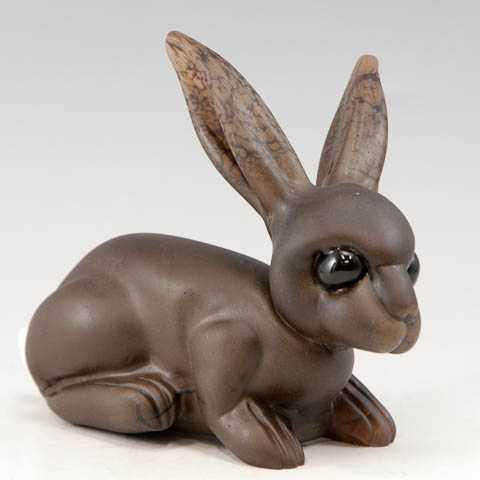 Brown Rabbit by  Julia & Robin Rogers - Masterpiece Online