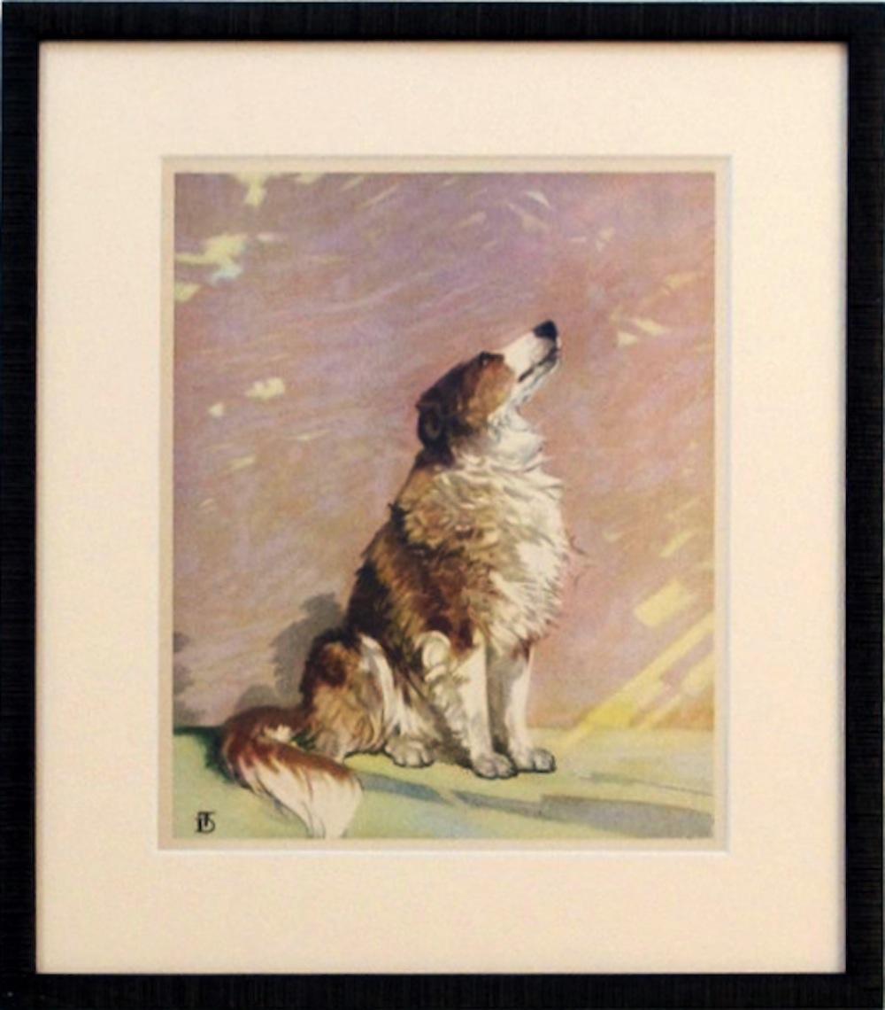 OKL - Framed dog prin... by  Diana Thorne - Masterpiece Online