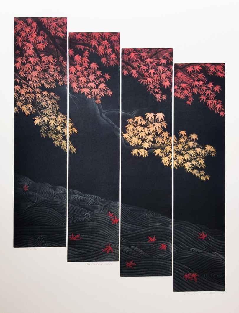 Brocaded Fall by  Katsunori Hamanishi - Masterpiece Online