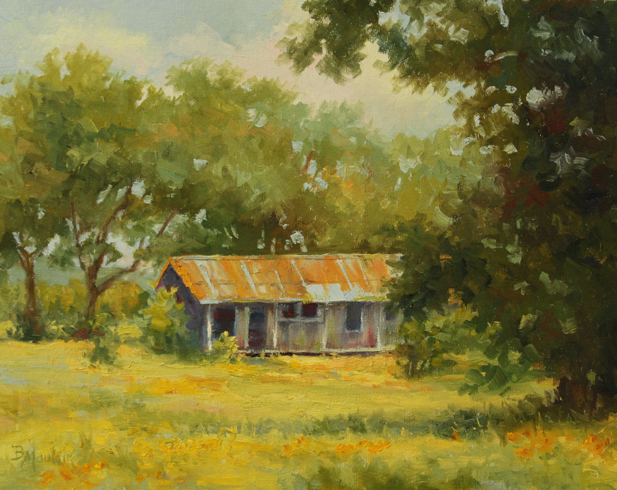 Country Camp by  Barbara Mauldin - Masterpiece Online