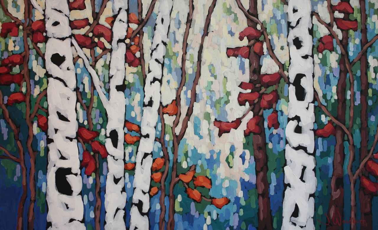 Watch The Light Rain ... by Ms Jennifer Woodburn - Masterpiece Online