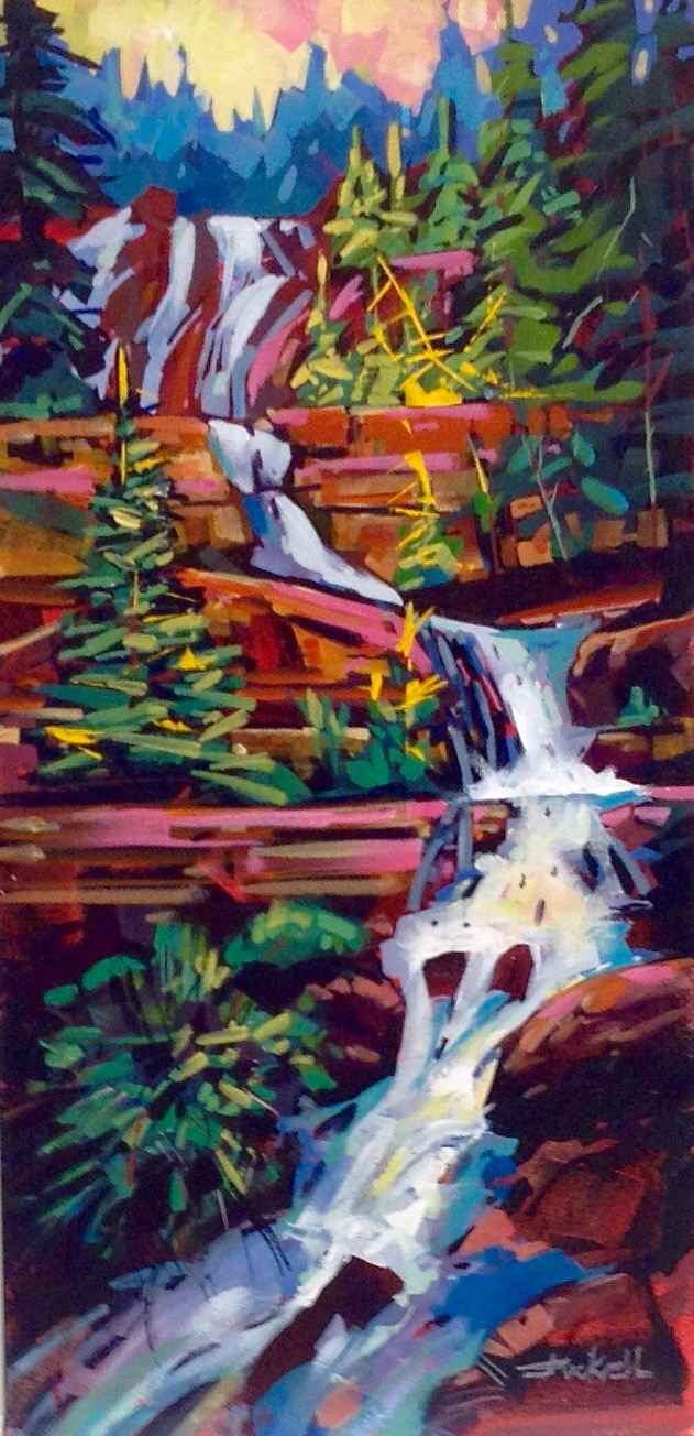 Tangle Falls by  Brian Buckrell - Masterpiece Online