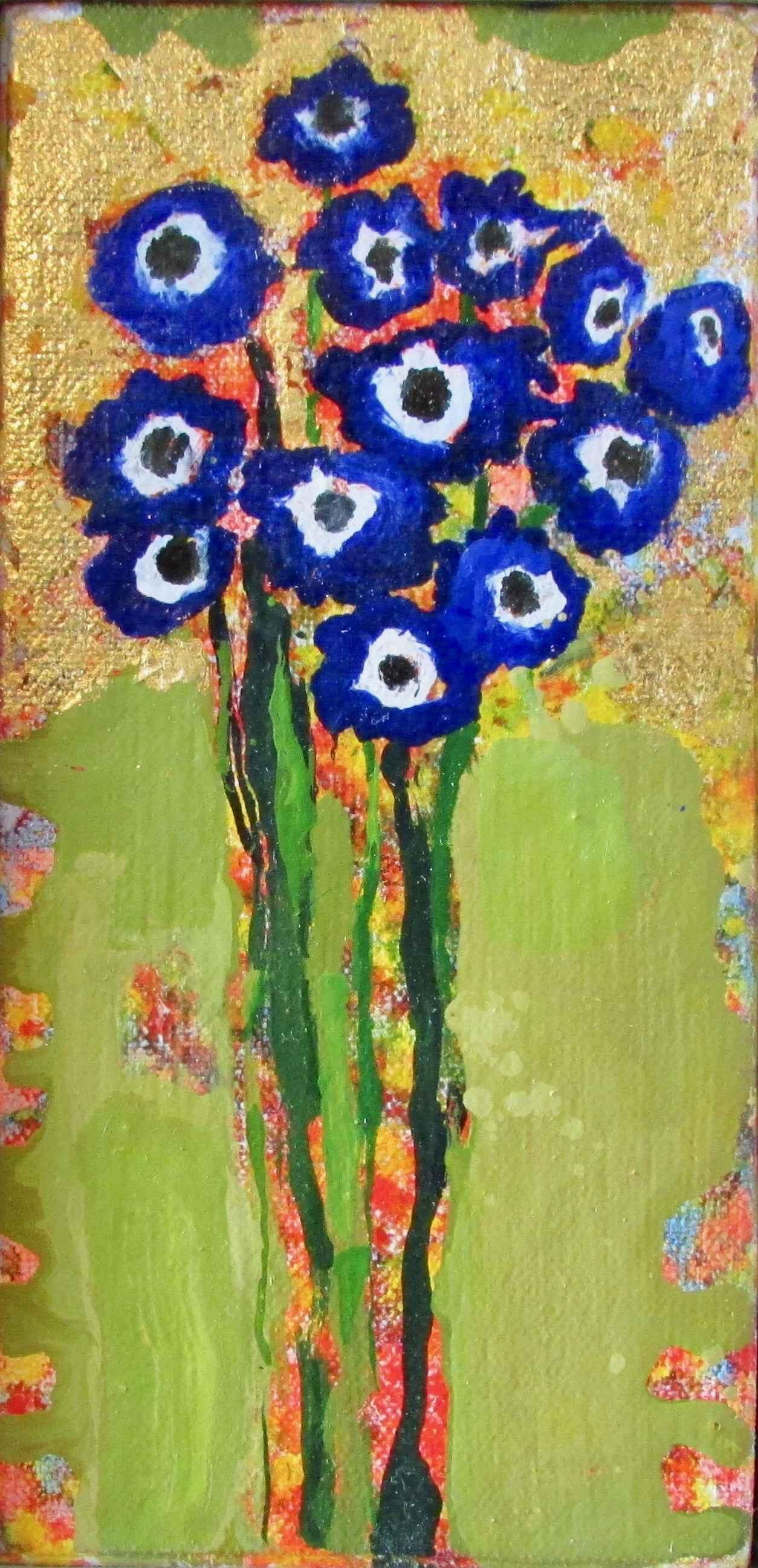 Senetti Blue #1495 by  Anne Salas - Masterpiece Online
