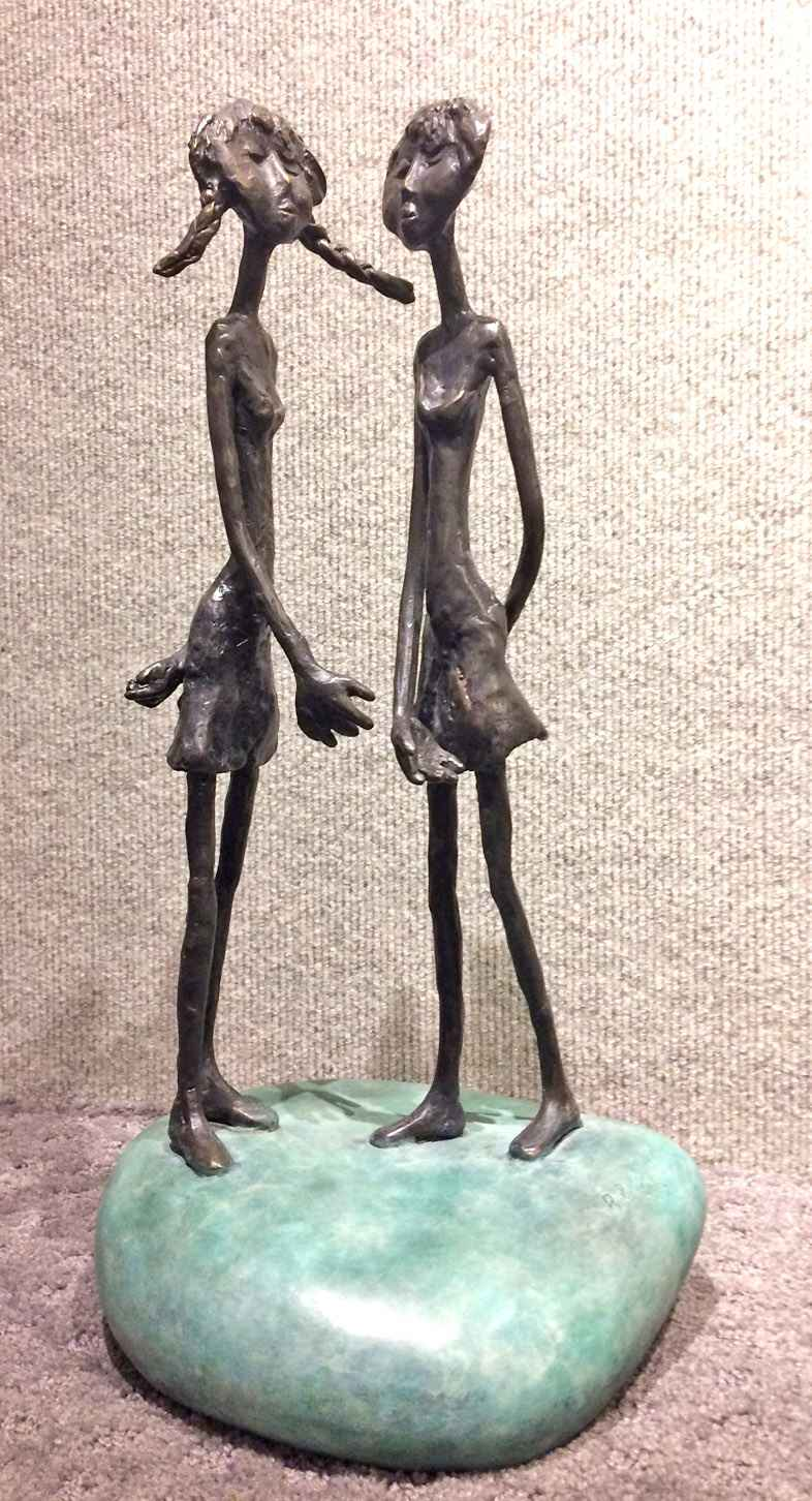 Figures on Stone (1/1) by  Ruth  Bloch  - Masterpiece Online