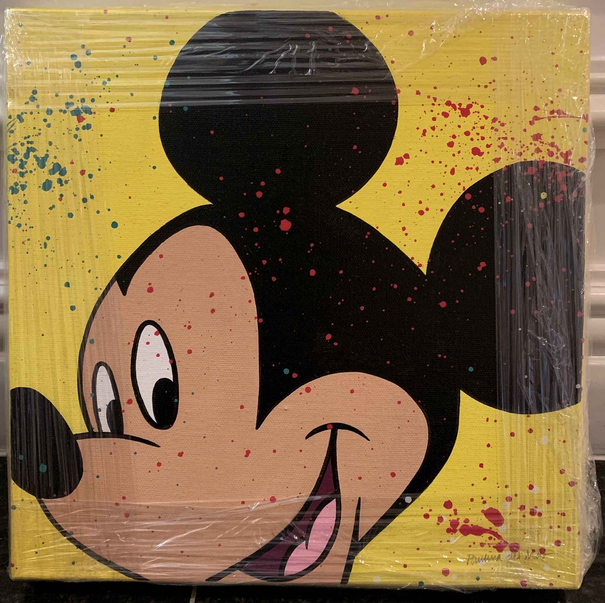 Mickey Mouse Yellow  by   Del Mar, Paulina