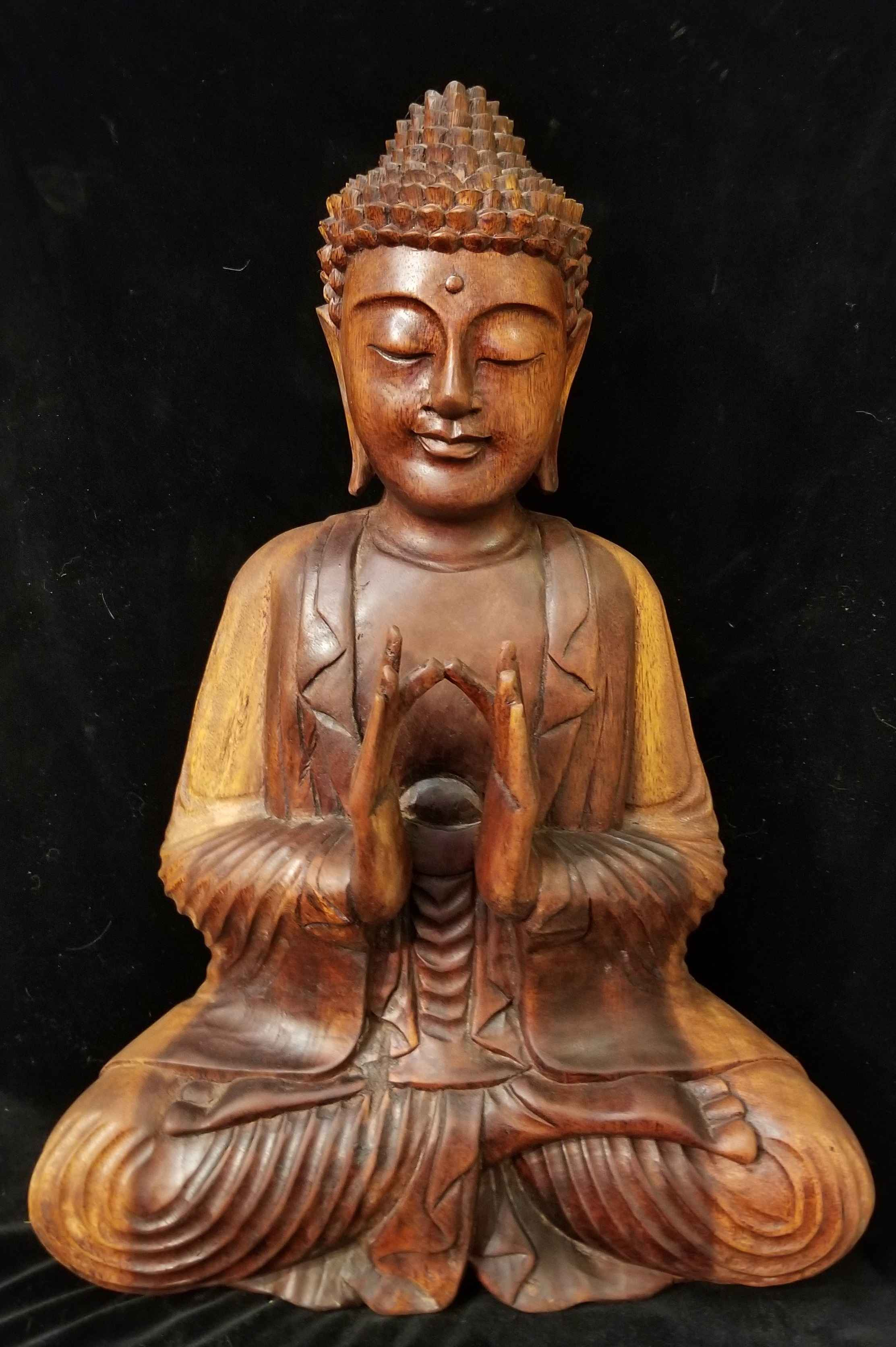 Buddha Wood Carving (... by  Starborn  - Masterpiece Online