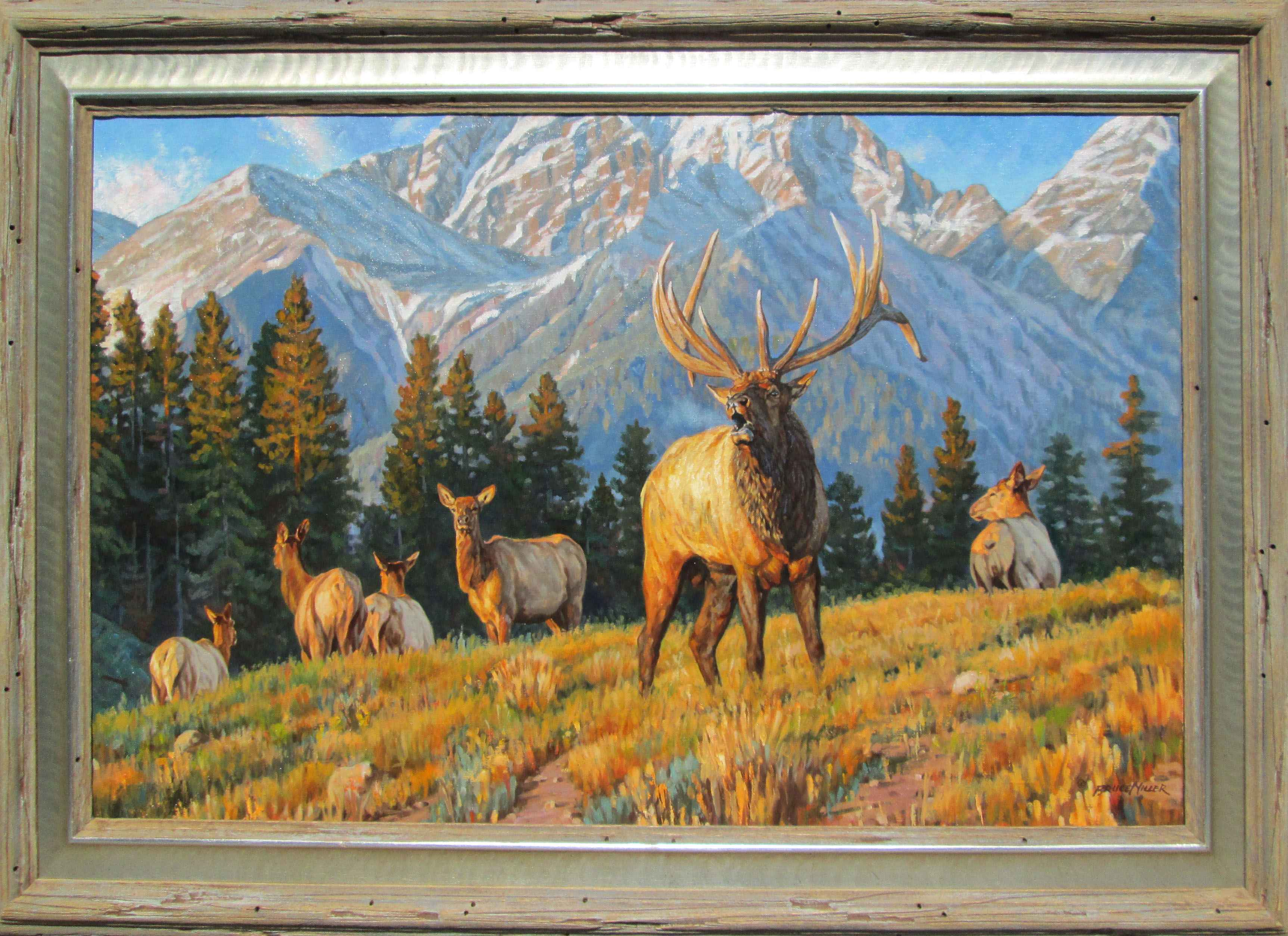 Elk Mountain by  Bruce Miller - Masterpiece Online