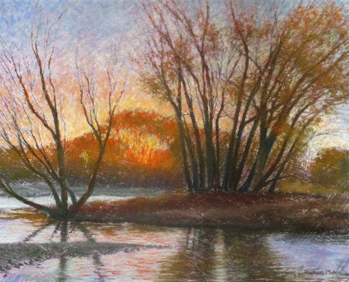 Unknown ( River Bank) by  Gary Michael - Masterpiece Online