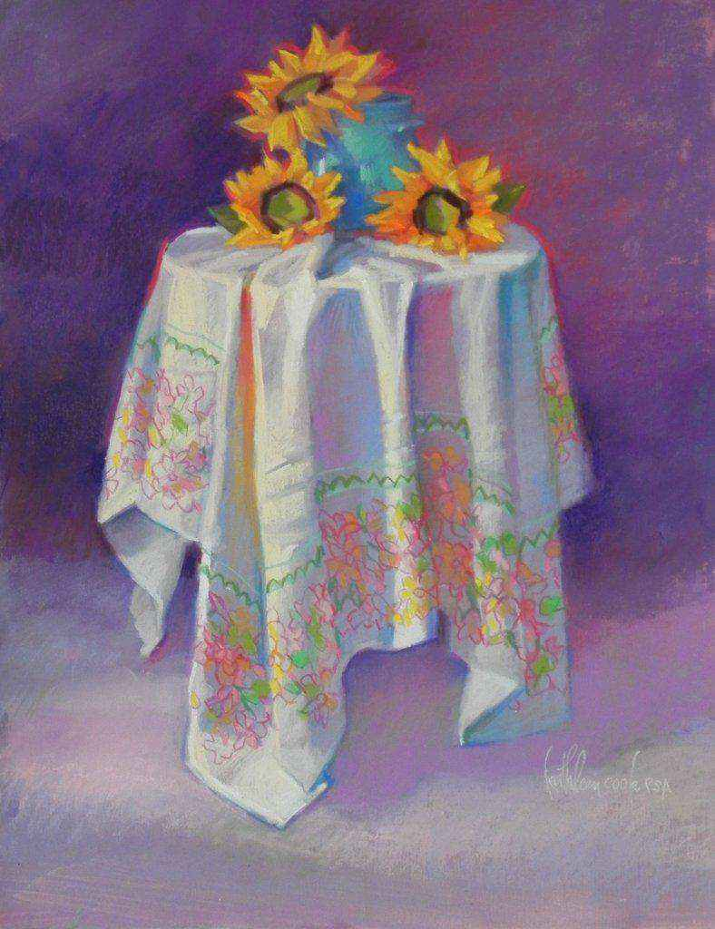 Little Table with Sun... by Ms Kathleen Cook - Masterpiece Online