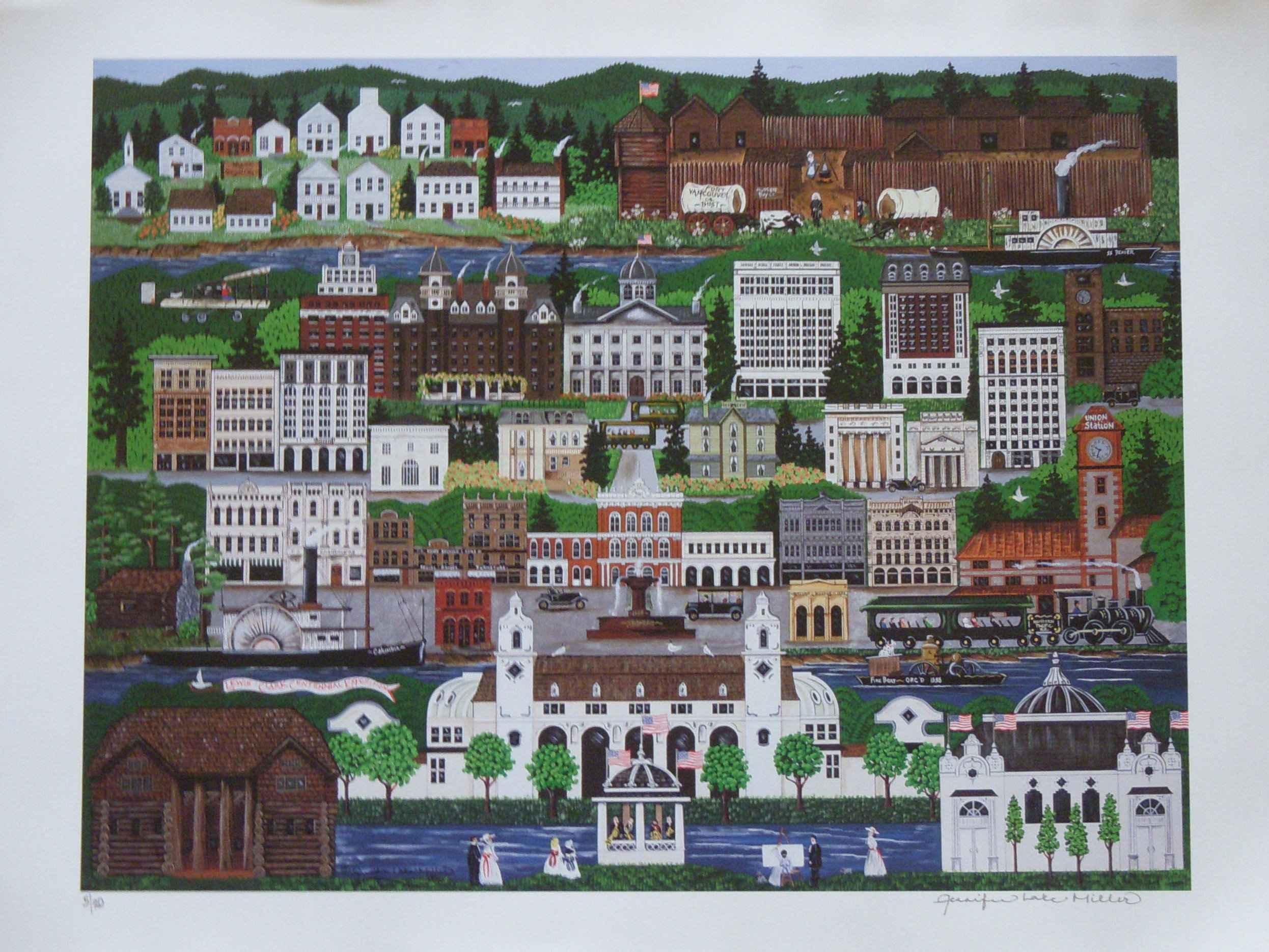 Union Station by  Jennifer Lake Miller - Masterpiece Online