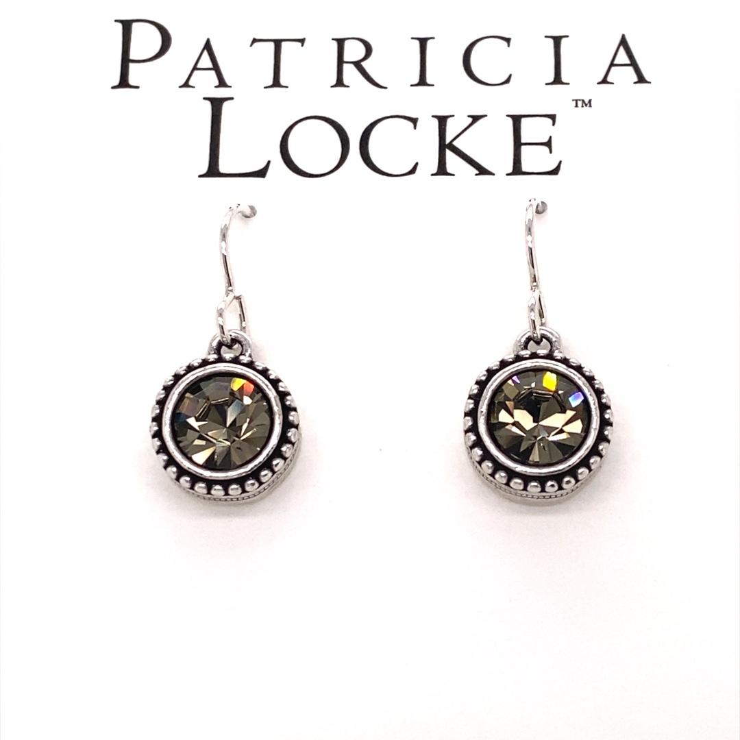 Tag You're It! Earrings in Silver, Black Diamond