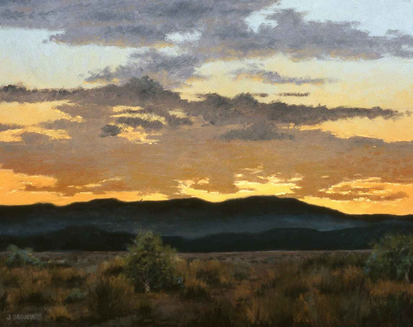 Amber Skies by  Janet Broussard - Masterpiece Online