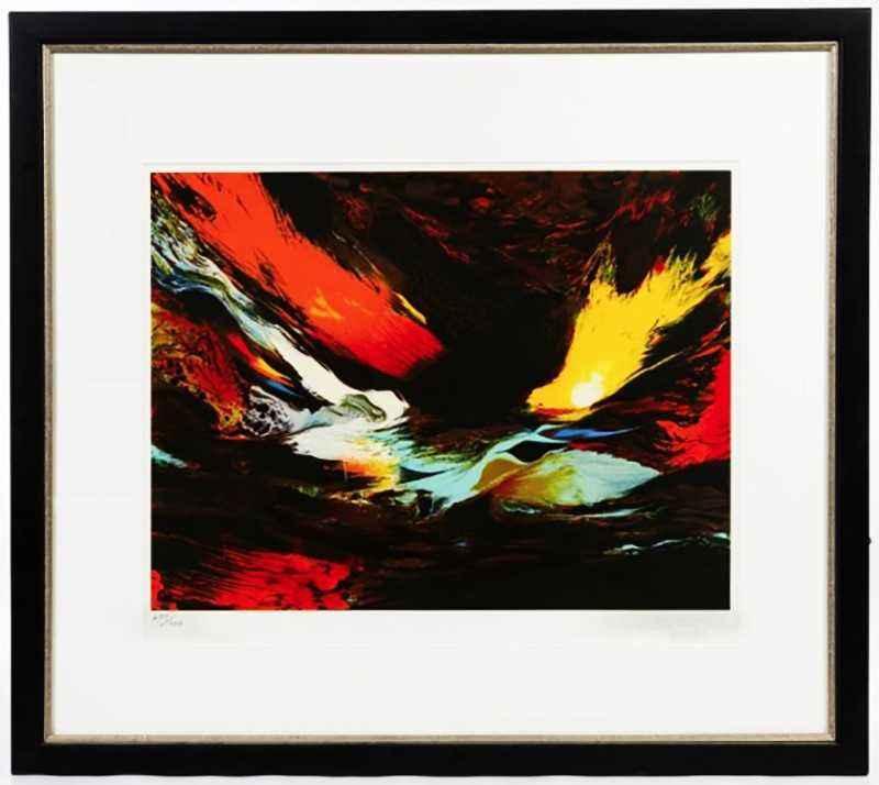 Abstract by  Leonardo Nierman - Masterpiece Online