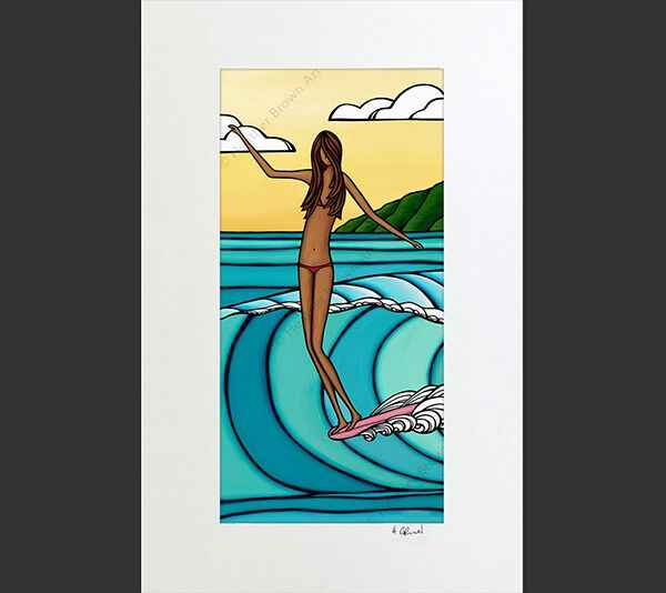 HB Wahine 11x17 Matte... by  Heather Brown - Masterpiece Online