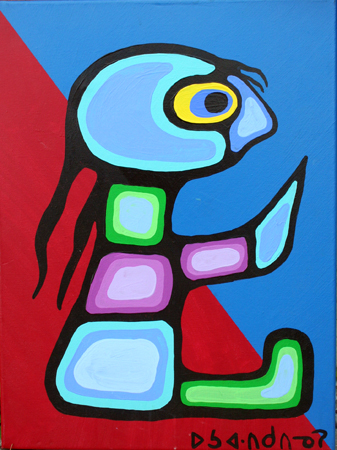 Child '80 by  Norval Morrisseau - Masterpiece Online