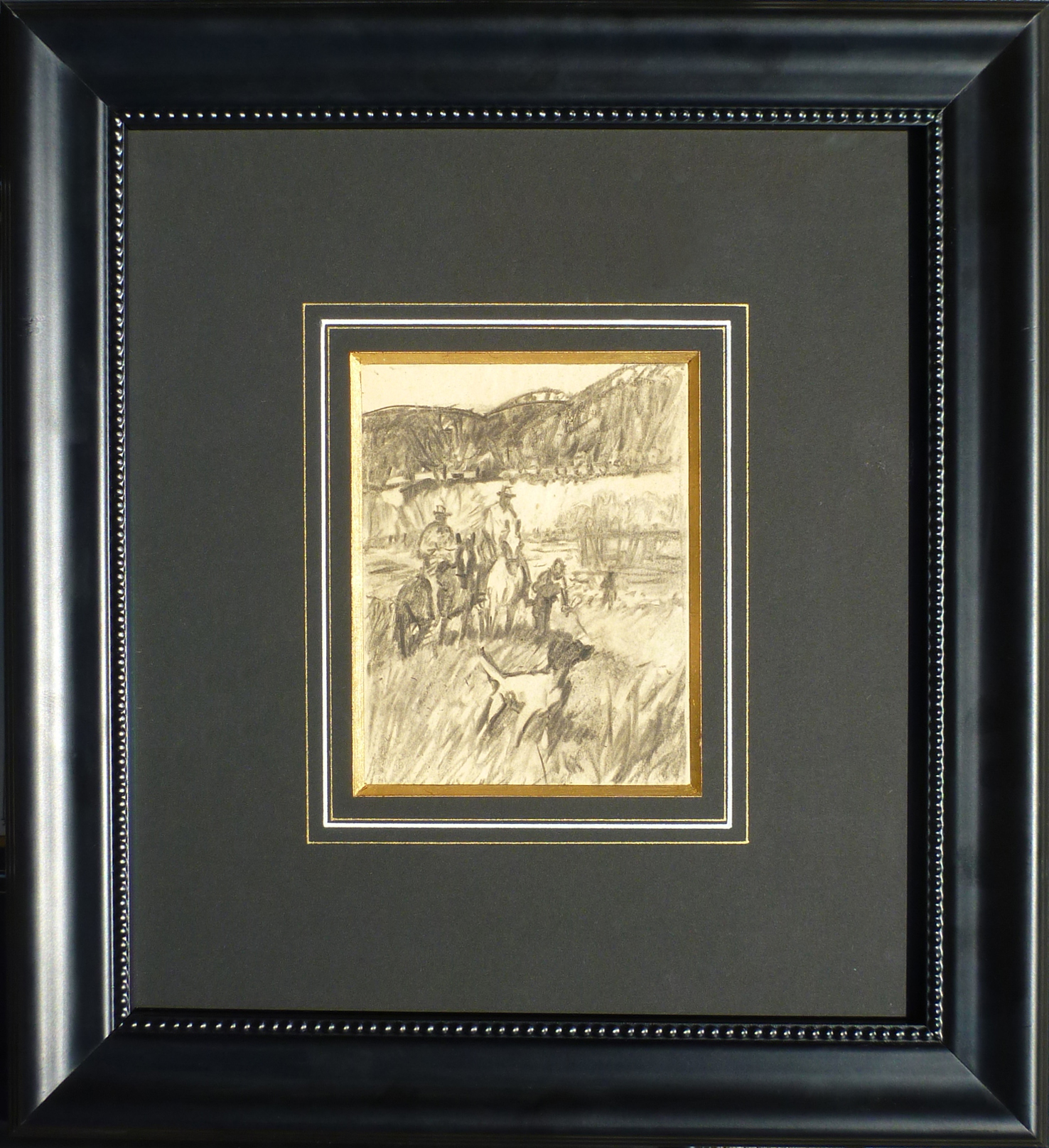Hunting Party by  Robert Lougheed - Masterpiece Online