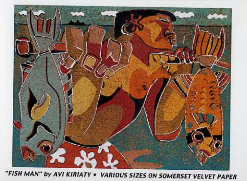 Fish Man by  Avi Kiriaty - Masterpiece Online