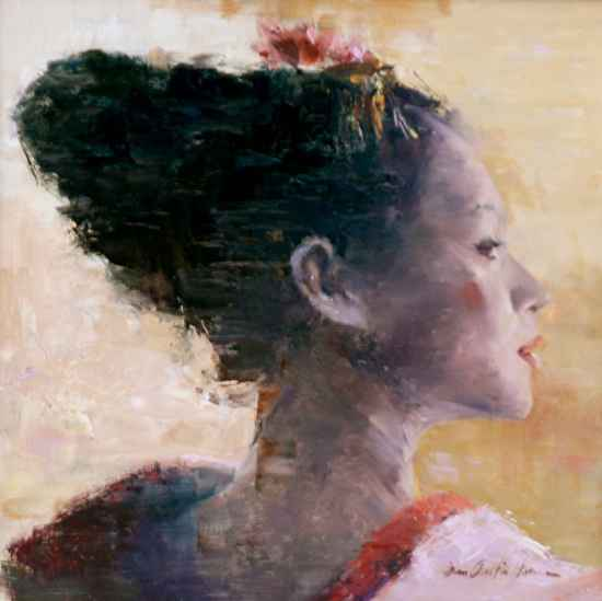 Geisha by  John Austin Hanna - Masterpiece Online