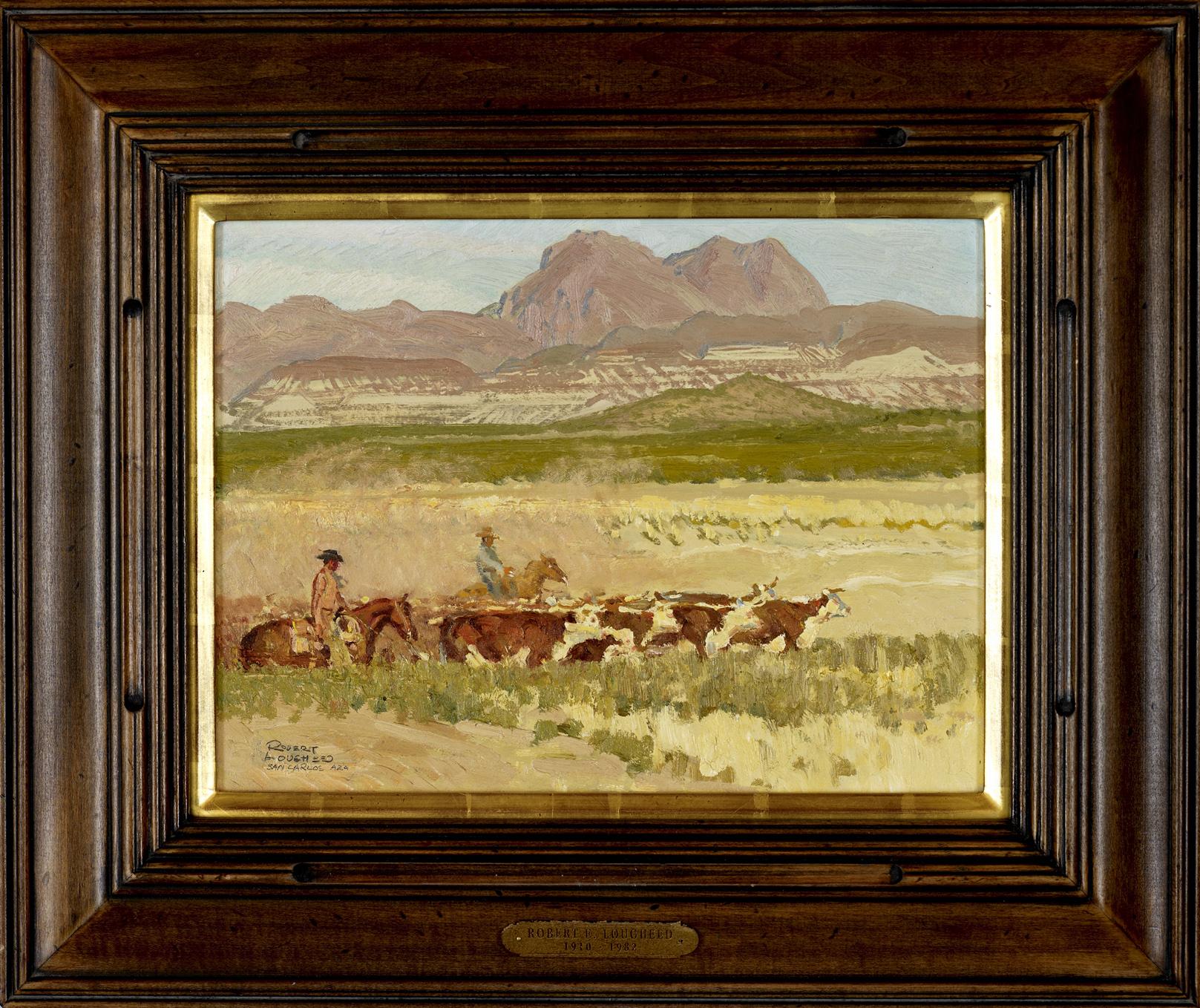 Dust of San Carlos by  Robert Lougheed - Masterpiece Online