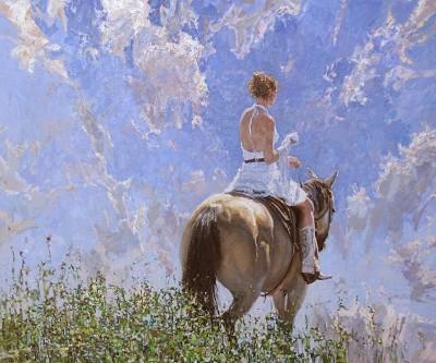 Western Bride by  Daud Akhriev - Masterpiece Online