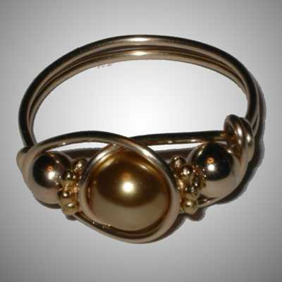 TA6992 Pearl and Gold... by  Terrie Allen - Masterpiece Online