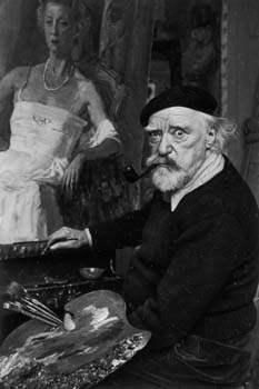 Augustus John, Hampsh... by  Alfred Eisenstaedt - Masterpiece Online