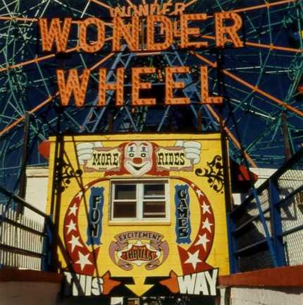 Wonder Wheel by  Diana Bloomfield - Masterpiece Online