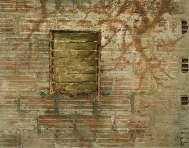 Muro 3: Arena y acril...