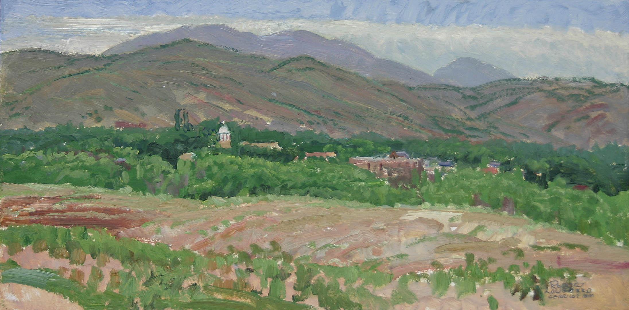 Village & Landscape by  Robert Lougheed - Masterpiece Online