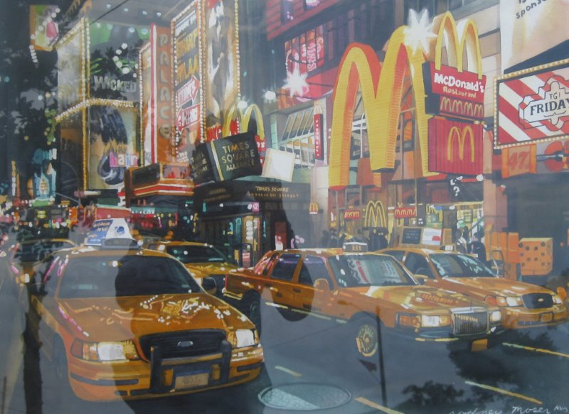 Wicked, Times Square by  Rodney Moser - Masterpiece Online