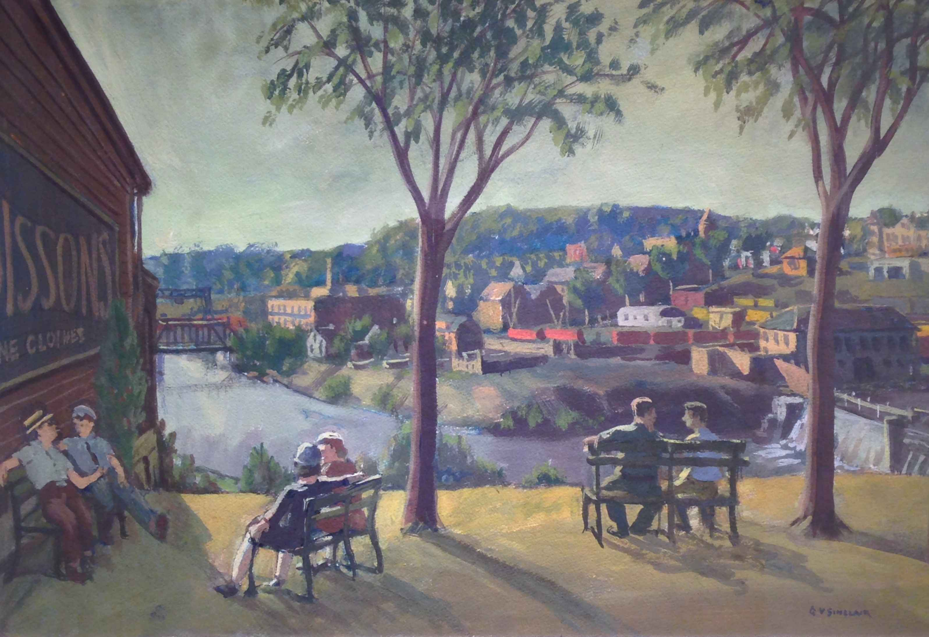 Above the Dam by Mr. Gerrit Sinclair - Masterpiece Online