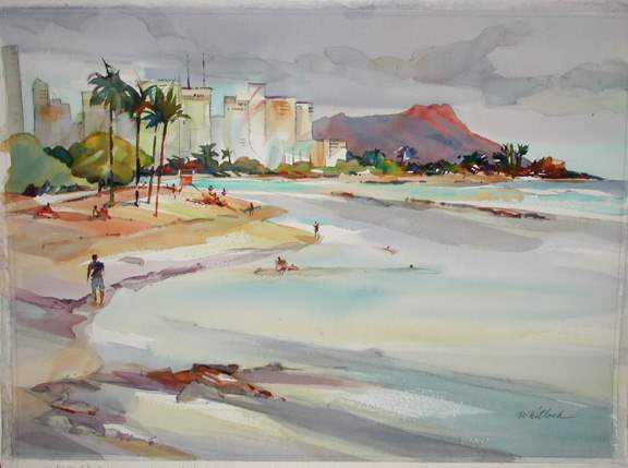Ala Moana by  Roger Whitlock - Masterpiece Online