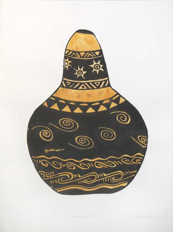 Wind Gourd by  Marcia Ray - Masterpiece Online