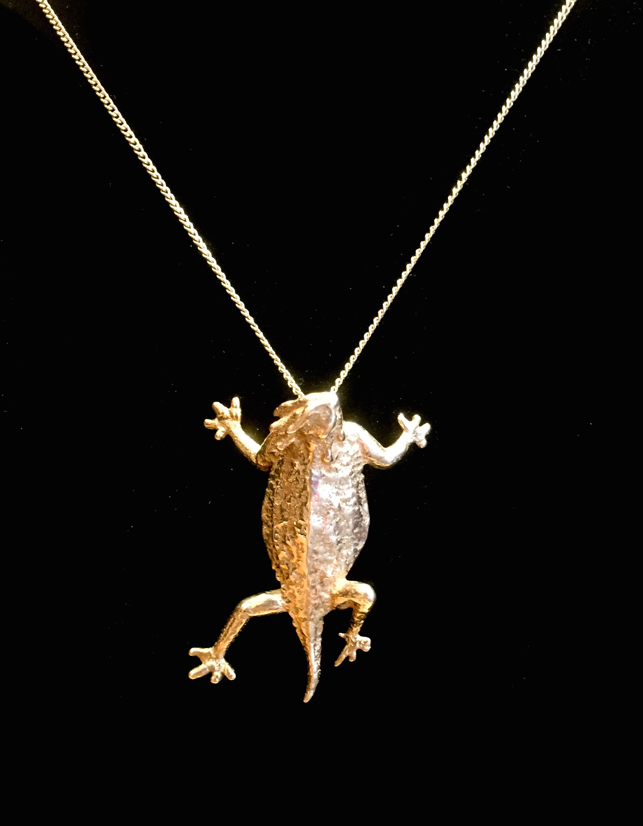 Horned Toad Pendant- ... by  Reagan Word - Masterpiece Online