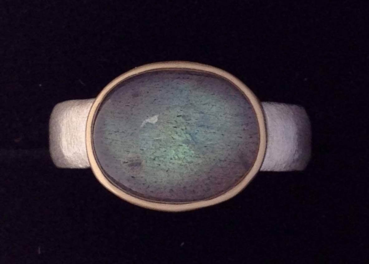 R-141 Labradorite (Ov... by  Kenneth Pillsworth - Masterpiece Online