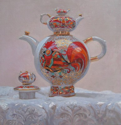 Big Teapot by  Daud Akhriev - Masterpiece Online