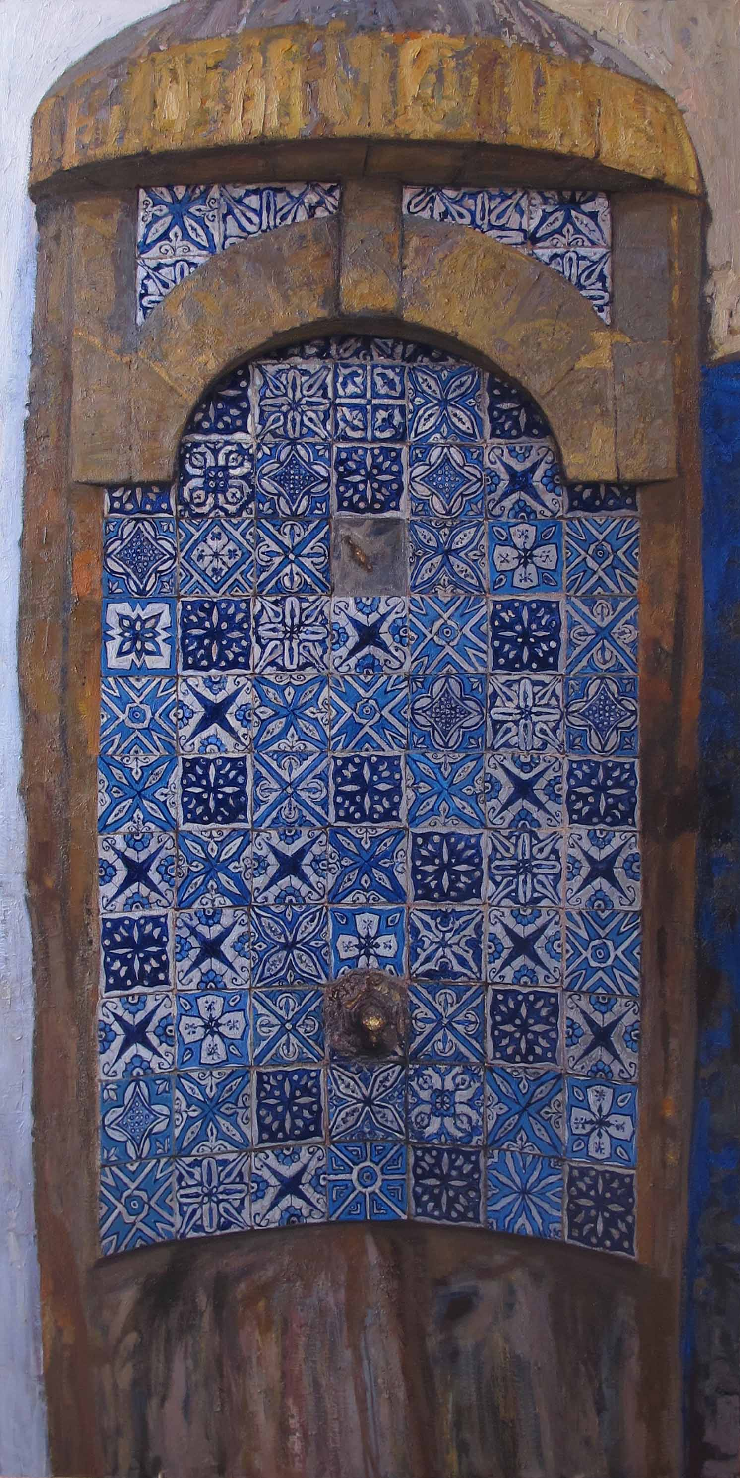 Moroccan Fountain by  Daud Akhriev - Masterpiece Online