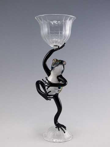 Frog Goblet by  Scott Bisson - Masterpiece Online