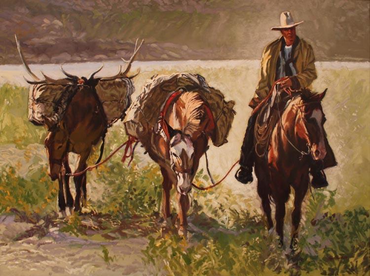 A NEW WORK- Trail of... by  Glen Edwards - Masterpiece Online