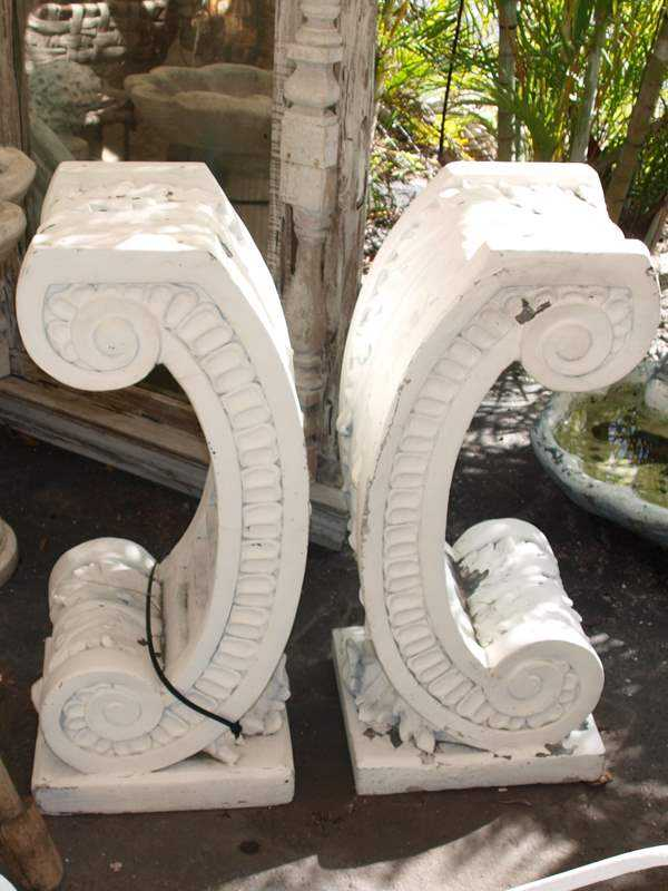 Pair of Corbels by  None None - Masterpiece Online