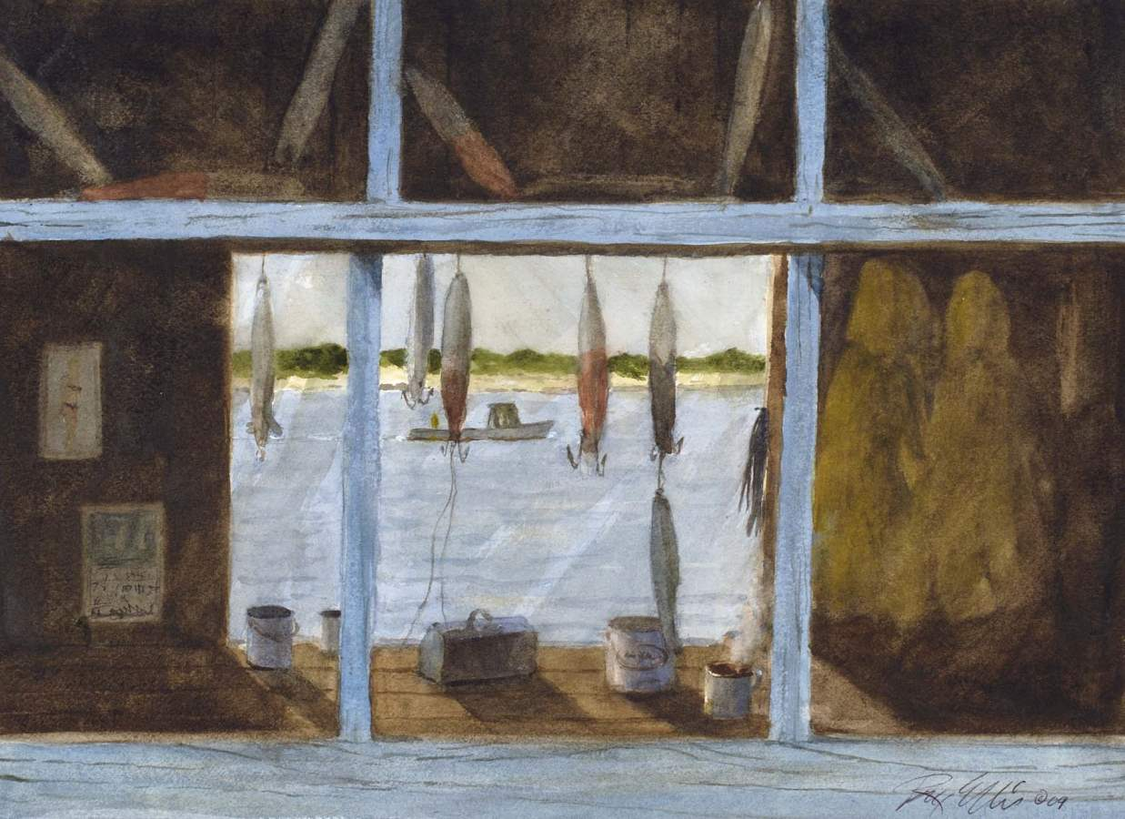 Through a Fishermans ... by  Ray Ellis - Masterpiece Online