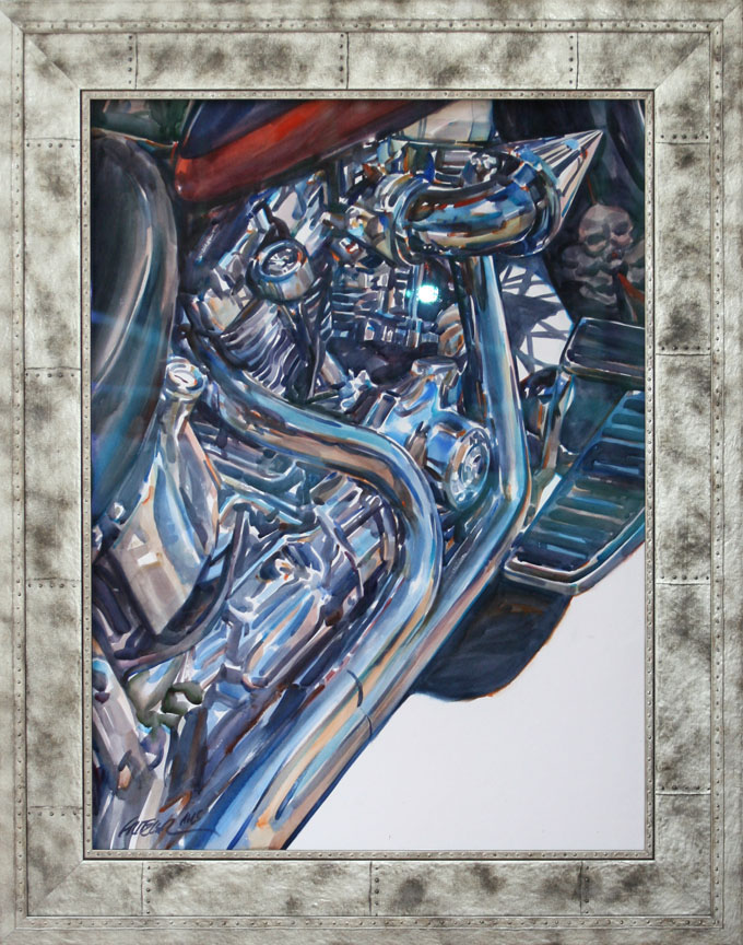 Chromed And Stacked F... by Mr. & Mrs. Gerald Fritzler - Masterpiece Online