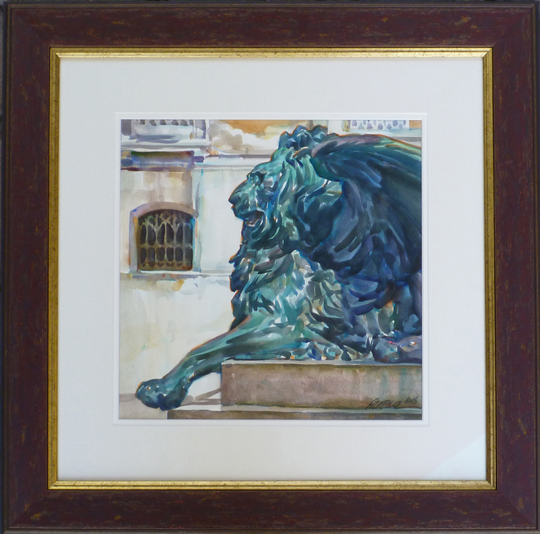 Lion of St. Mark by Mr. & Mrs. Gerald Fritzler - Masterpiece Online